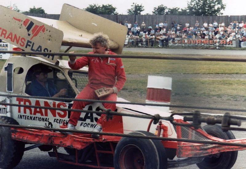 Stuart Smith BriSCA Formula One stockcar driver